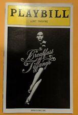 Breakfast at Tiffany's Playbill - Original Broadway Cast - Emilia Clarke