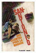 SAN ANTONIO 40 DES CLIENTES POUR LA MORGUE 1972 BE