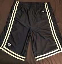 Nike King James Shorts XXL (Black And Gold)