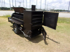 Bubba Grill 250R with Rib Box smoker concession vending trailer Mags spare New