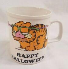 Vintage 1978 Mug Garfield Wild & Crazy Guy Halloween Costume Great Condition
