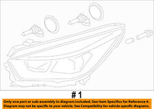 FORD OEM 17-18 Escape-Headlight Assembly Right GJ5Z13008A