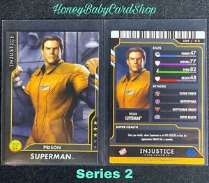 Injustice Arcade GEM MINT Series 2 Card 89 Prison Superman