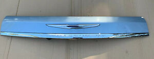 2011-2016 Chrysler Town & Country Liftgate Exterior Trim Panel W/Camera BLUE