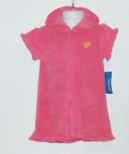 Greendog Infant Girls Terry Cover Up + One (1) Piece Swimsuit + Sandals 24M NWT