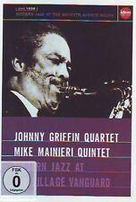 Johnny Griffin Quartet , Mike Mainieri / Modern Jazz At The Village .. (NEW,DVD)
