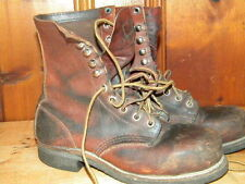 1980's Red Wing Brown Leather Work Boots Women's Size 5 D USA Made (used)