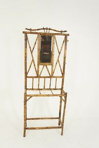 Antique Victorian Aesthetic Bamboo Hall Stand, Scotland 1880, B2061