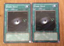 2 Yugioh Dark Hole Cards