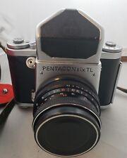 Pentacon Six TL medium format German camera Zeiss Biometar 80/2.8 CLA works
