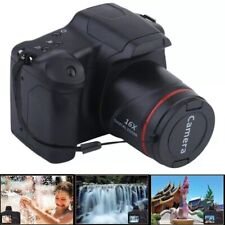 Portable Digital SLR Camera 1080P 16x Zoom With Anti-Shake 2.4 Inch TFT LCD Scre