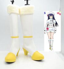 Cosplay LOVE LIVE! Nishikino Maki Anime Boots Schuhe Stiefel Handarbeit Gr.34-42