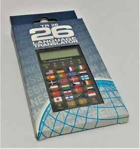 Diotronic 26 Language Translator Vintage Handheld Pocket Language Translator