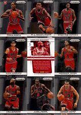 2013-14 Panini Prizm Chicago Bulls  Complete Team Set w/HRX (12)