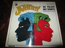 JOHNNY HALLYDAY AU PALAIS DES SPORTS France 1967 LP Philips BIEM 844 721 BY