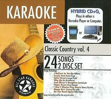 ASK-90 Classic Country Karaoke; Karaoke Edge, Various Artists, Good Enhanced
