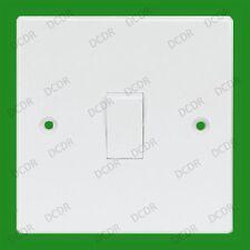1 TOMA, 1 way, Plástico Blanco Interruptor sencillo, 6ax 250v