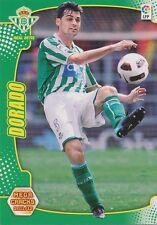 N°061 JOSE ANTONIO DORADO RAMIREZ # REAL BETIS CARD PANINI MEGA CRACKS LIGA 2012
