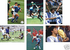 Maradona Argentina World Cup Winners 6 POSTCARD Set
