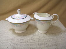 Mikasa China Friendship Garden AK005 Sugar & Creamer Set