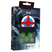 Brand New - Ariadna D20 Dice Set - Infinity Wargame Corvus Belli Tabletop