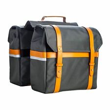 PAIR QUALITY BIKE PANNIER BAGS WALCO CITY CHIC COMMUTER LUGGAGE 26 x 13.4 x 8cm