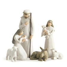 More details for willow tree nativity scene figurine set 26005 new in gift box