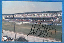 MICHAEL ANDRETTI - autographed on race track photo