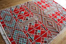 51 3/16x78 11/16in Washable, Handmade Rug, Kelim , Carpet, Rug, New, Rs 1-4-22