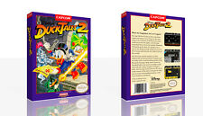 - Duck Tales II NES Replacement Spare Game Case Box + Cover Art Work Only