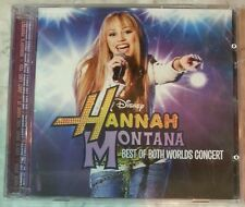 BEST OF BOTH WORLDS CONCERT [Miley Cyrus] by HANNAH MONTANA (CD + DVD, 2008) NEW