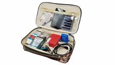"""Make Up Bags Kit Cases 10"""" Green CAMO TRAVEL Water Resistant Oral Care Cases Bag"""