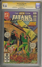 """NEW TEEN TITANS #18 CGC SS  9.6  """"SIGNED BY MARV WOLFMAN & GEORGE PEREZ"""""""