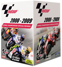 MOTO GP WORLD CHAMPIONSHIP REVIEWS 2000 to 2009 - 10 DVD BOX SET - MOTO GP DVDs
