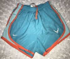NIKE Dri-Fit Running Shorts Extra-Small Blue And Orange