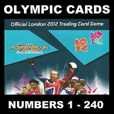 Panini Adrenalyn Olympics London 2012 incl Super Foil & Base cards