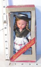 WALKING DOLL WIND UP TOY 1950s WEST GERMANY BOXED WORKS!