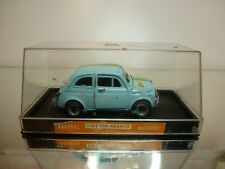 NACORAL 1:25 - FIAT 500 RALLY NO= 3507 - EXTREMELY RARE - EXCELLENT IN SHOW CASE