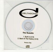 (GO409) The Suzukis, Built In - DJ CD