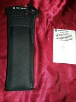 Motorola APX 7000 / 6000 D rings nylon carry case PMLN5325