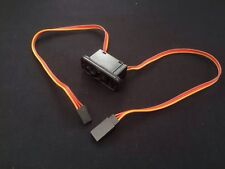 Heavy Duty RC Switch LED Receiver Battery On Off for RC Futaba JR Connectors