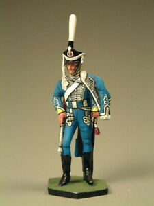 Painted Tin Toy Soldier Private Hussar Regiment 54mm 1/32