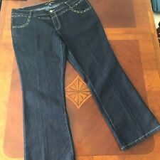 1cff3e3618a Southpole Jeans Women s size 24 Dark Straight Leg Stretch Triangle Flap  Pocket