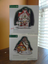 Dept 56 Frosty Pine Outfitter Barbie Boutique Cloth Store Christmas Village Lot