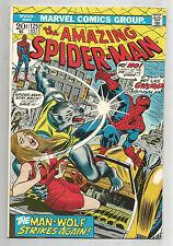 Amazing Spider-Man (v1) #125: Bronze Age Grade 8.5 Featuring Man-Wolf!