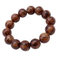 Handgelenk Armband Tibetischen Buddhistischen Perlen Stein Elastischen Armreif