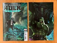 IMMORTAL HULK 17 Alex Ross Main + Marvel Battle Lines  1st A-Bomb-ination NM+