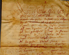 1650 Parchemin La Feuillie acte vente une masure de LETAILLEUR DUBLOC à ENGRAN
