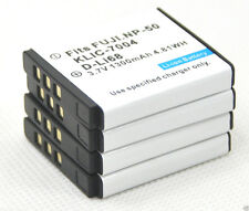 new 4 NP-50 NP50 Battery for FinePix X10 X20 XF1 XF-1 XP100 XP150 XP170 REAL 3D