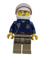 Lego Polizist Hubschrauberpilot Pilot Minifigur Legofigur Figur City cty868 Neu